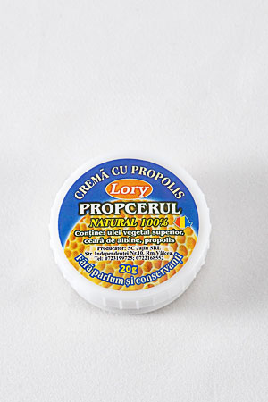 PROPCERUL( albastru) - CREMA CU PROPOLIS